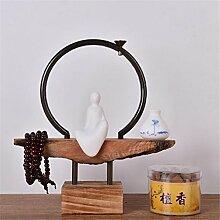 Wmshpeds Neue Chinesische Zen, gießen Sie Räucherstäbchen Ornamente Ornamente, Wohnzimmer Eingang TV-Schrank, home Ornamente Ornamente