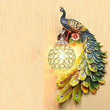 Wmshpeds Wandleuchte, Peacock Gang, moderne,