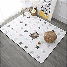 Wmszpy Koreanisches Design Stern Gedruckt Carpet