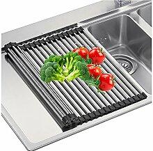 WMWJDQ Mehrfunktion Trocknungsgeschirrkorb Küche