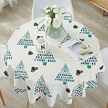 WOAINI Abwischen PVC Tischdecke,Weich