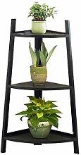WOAINI Bambus-Holz-Blumen-Display-Leiter |3 Tier