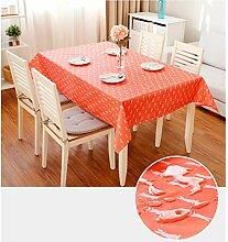 WOAINI PVC Wachstuch Tischdecke,Wasserdichtes