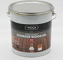 Woca Exterior Öl Teak - 3 Liter - Terrassenöl