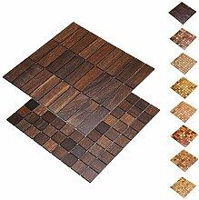 wodewa Holz WandverkleIdung Holzmosaik Fliese
