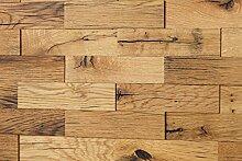wodewa Wandverkleidung Holz 3D Optik Eiche Altholz