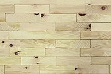 wodewa Wandverkleidung Holz 3D Optik Zirbe 1m²