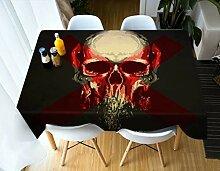 WODEWO-Tablecloths 3D Tischdecke Cartoon Kürbis