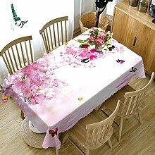 WODEWO-Tablecloths 3D Tischdecke Weihnachten