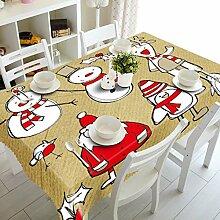 WODEWO-Tablecloths 3D Tischdecke Weihnachtsbaum