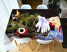 WODEWO-Tablecloths Verdicken Sie Baumwolle