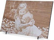Wogenfels - Holzbild Ceiba (22,5 x 15 cm) | Gravur