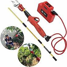 WOHAO Schere Astschere, elektrische Gartenschere