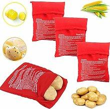 Wohlstand 4 Stück Mikrowellen Kartoffelbeutel
