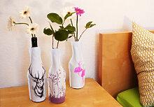 Wohnaccessoires - Flaschenhussen