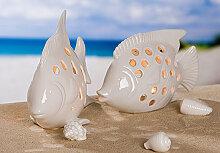 Wohnaccessoires - Leuchter Fisch