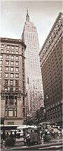 Wohnaccessoires - Türtapete Empire State Building