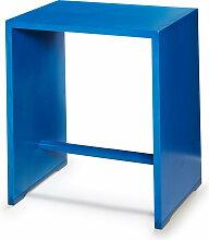 wohnbedarf projekt ag wb form - Ulmer Hocker, dunkelblau