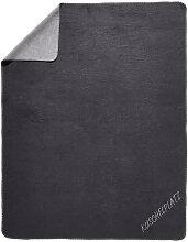 WOHNDECKE 150/200 cm Grau, Silberfarben