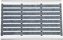 WohnDirect Aluminium Fußmatte Innen und Aussen