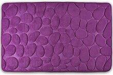 WohnDirect Badezimmerteppich mit Memory Foam -