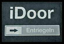 WohnDirect iDOOR Fussmatte Innen und Aussen