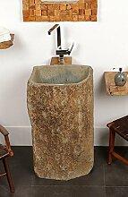 wohnfreuden Marmor Standwaschbecken 70x85cm |