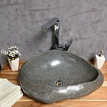 waschbecken naturstein findling g nstig online kaufen lionshome. Black Bedroom Furniture Sets. Home Design Ideas