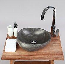 wohnfreuden Naturstein Waschbecken Waschbecken aus