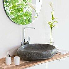 Naturstein Waschbecken Waschtisch Gunstig Online Kaufen Lionshome