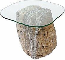 wohnfreuden Onyx Marmor Stein-Tisch Beistelltisch