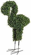 wohnfuehlidee Kunstpflanze Buchsbaum Flamingo