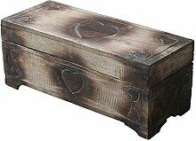 Wohnkult Holz Truhe Schatztruhe 40 cm Kiste aus
