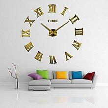 Wohnkultur römischen Spiegel moderne Uhren Raum Wanduhr leben