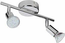 Wohnling 2-flammiger LED-Spotstrahler, inkl. 2x3