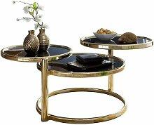 Wohnling Couchtisch SUSI mit 3 Tischplatten