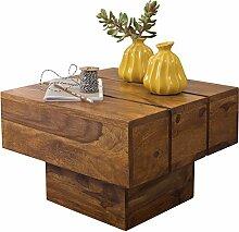 Wohnling Couchtisch Viereckig Massivholz Design