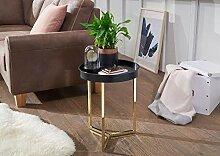 Wohnling Design Beistelltisch Eva 40x51x40cm