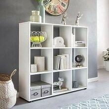 Wohnling Design Bücherregal Zara mit 9 Fächern