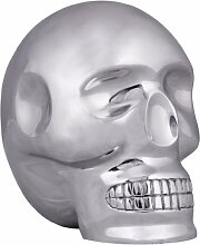 Wohnling Design Deko Skull XXL, 23 x 23 x 18 cm