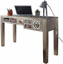 Wohnling Design Schreibtisch LONI 120x77x48cm