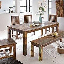 Wohnling Esszimmertisch, Holz, Mehrfarbig,