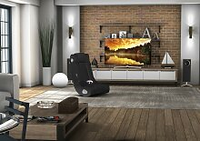 WOHNLING InGamer Soundsessel 2.1 | Gaming Multimedia Rocking Chair | Music Rocker Soundchair | Multimediasessel Schwarz