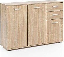 Wohnling Kommode WL5.288 mit Türen & Schubladen