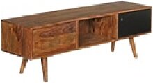 Wohnling Lowboard WL1.973, TV Lowboard REPA 140 cm