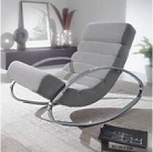 Wohnling Schaukelstuhl WL6.222, Relaxliege Sessel