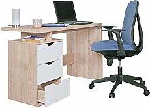 WOHNLING Schreibtisch Design Bürotisch mit