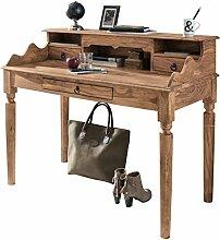 Wohnling Schreibtisch KADA Massivholz Akazie,