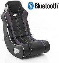 Wohnling® Soundchair in Schwarz mit Bluetooth |