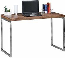Wohnlng Schreibtisch aus Massivholz Sheesham mit